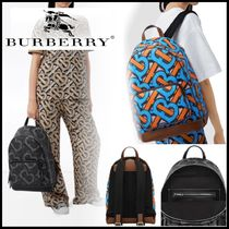 BURBERRY♥モノグラムプリントEキャンバスバックパック