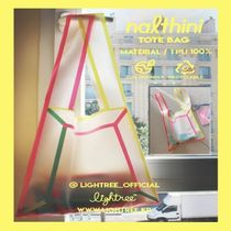 LIGHTREE★韓国雑貨★人気エコバッグNALTHINI HALF&HALF ECO BAG