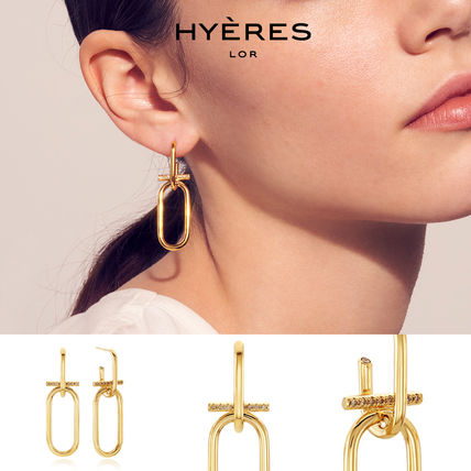[HYERES LOR] Noailles Link Earrings Y-MIX★ソイェジ着用