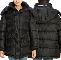BALENCIAGA★New swing logo jacket black【関税込EMS謝恩品】