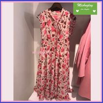 【kate spade】上品なお花柄★ nouveau bloom smocked dress ★