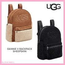 【UGG】DANNIE II BACKPACK SHEEPSKIN♪もこもこバックパック♪