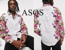 [ASOS]Twisted Tailor 花柄 スキニー長袖シャツ ☆