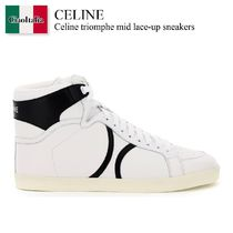 Celine triomphe mid lace-up sneakers