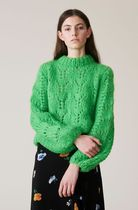 Ganni セール☆mohair and wool-blend sweater