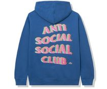 ANTI SOCIAL SOCIAL CLUB★Stir Crazy フーディー Blue