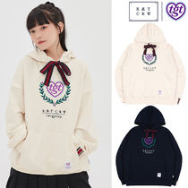 ROMANTIC CROWN★[TGT X RMTCRW]RIBBON HOODIE_2色