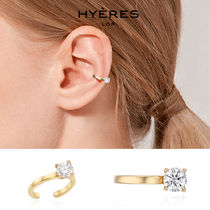 [HYERES LOR] Etincelle Silver Point Ear Cuff S★IZZY着用