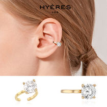 HYERES LOR(イエールロール) イヤリング [HYERES LOR] Etincelle Silver Point Ear Cuff L★IZZY着用