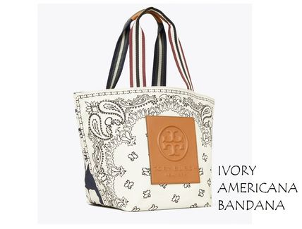 Tory Burch トートバッグ TORYBURCH GRACIE PRINTED CANVAS TOTE 65044 即日発送可!(2)