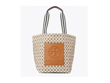 Tory Burch トートバッグ TORYBURCH GRACIE PRINTED CANVAS TOTE 65044 即日発送可!(11)