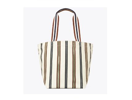 Tory Burch トートバッグ TORYBURCH GRACIE PRINTED CANVAS TOTE 65044 即日発送可!(12)