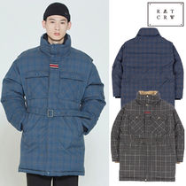 ROMANTIC CROWN★CHESTERFIELD CHECK PARKA 2色