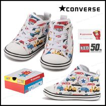 CONVERSE(コンバース) ベビースニーカー 【国内発】CONVERSE◆BABY ALL STAR TOMICA 働く車デザイン☆