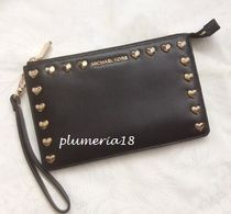 sale!Michael Kors(マイケルコース)-md gusset wristlet leather