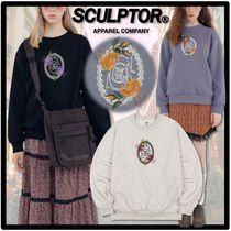 ★関税込★SCULPTOR★トレーナー Flower Frame Sweatshirt