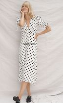 セール! Faithfull Faithfull Franca Polka Dot Maxi Dress