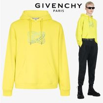 【GIVENCHY】リング プリント フーディ LIME