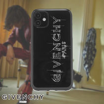 GIVENCHY☆SKETCH LOGO IPHONE XI CASE スマホケース ロゴ
