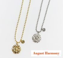 【AUGUST HARMONY】Daisy ball chain necklace (gold/silver)