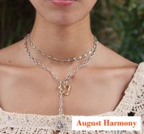 【August Harmony】True love twoway necklace (Silver)