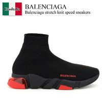 Balenciaga stretch knit speed sneakers