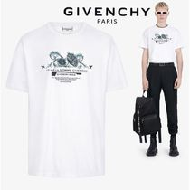 【GIVENCHY】STUDIO HOMME フローラルプリント Tシャツ WHITE
