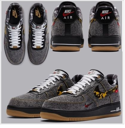 """Nike(ナイキ) キッズスニーカー 【NIKE】大人もOK★Air Force 1 Low""""Remix Pack"""" エアフォース"""