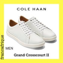追跡付き☆COLE HAAN☆Ground Crosscourt ll☆レザースニーカー
