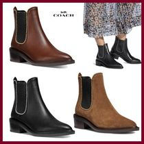 【COACH】Bowery Bootie レザー ブーティー☆