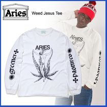 ARIES(アリーズ) Tシャツ・カットソー 20AW◇UK発◇ストリート◆ARIES◆Weed Jesus Tee