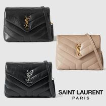 ∞∞ Saint Laurent ∞∞ Loulou Toy quilted leather バッグ☆