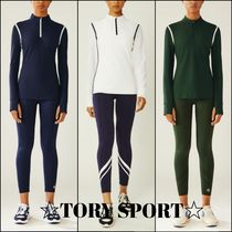 TORY SPORT☆REFLECTIVE-STRIPE QUARTER-ZIP☆プルオーバー 3色