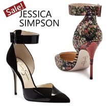 『Jessica Simpson』Snake★美脚スネイク柄パンプス
