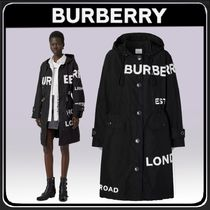 ◆BURBERRY◆ ホースフェリープリント ナイロン パーカー