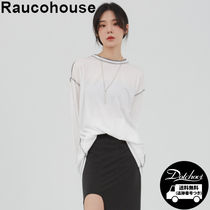 Raucohouse Mild overlock long sleeves YJ201 追跡付