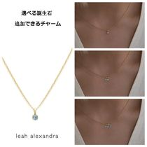 選べる誕生石・追加可【leah alexandra】BIRTHSTONE NECKLACE