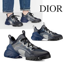 D-CONNECT SNEAKERS IN TECHNICAL FABRIC WITH CAMOUFLAGE PRINT
