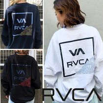 【RVCA】☆MENS' FRACTION L/S TEE☆オーバーシルエット