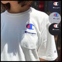 国内発送・正規品★Champion★MEN'S LOGO POCKET T-SHIRT