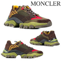 MONCLER LEAVE NO TRACE LOW TOP SNEAKERS