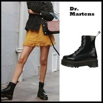 ☆Dr.Martens☆ 厚底 ブーツ JADON POLISHED SMOOTH (BLACK)