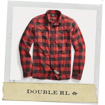 ★ RRL ★アメカジ★ 2020AW 新作 Plaid Twill Workshirt