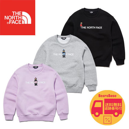 THE NORTH FACE K'S BRUSHED OSO GRAPHIC SWEAT BBH237 追跡付