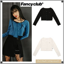 NASTY FANCY CLUBの[NF] LACE POINT LONG SLEEVES TEE 全3色