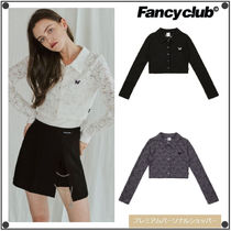 NASTY FANCY CLUBの[NF] LACE COLLAR CARDIGAN TEE 全3色