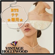 ☆BTS 愛用☆VINTAGE HOLLYWOOD★Daisy Margaret Pearl Necklace
