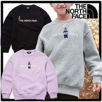 関税込★THE NORTH FACE★K'S BRUSHED OSO GRAPHIC SWEATSHIRTS