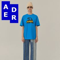 ★Adererror★Aspect t-shirt SKY BLUE