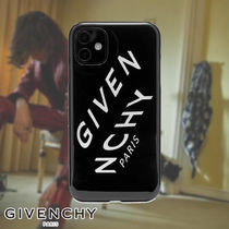 GIVENCHY☆REFRACTED LOGO IPHONE XI CASE スマホケース ロゴ